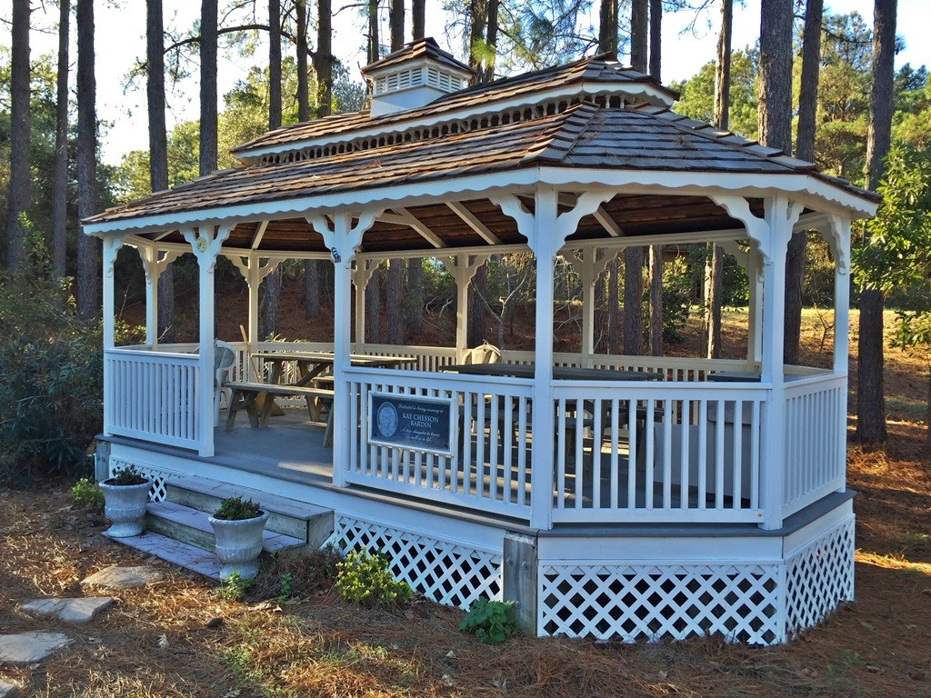 Leeward Inn_Hillcrest Tennis Courts gazebo_Southern Shores_OBX_Outer Banks