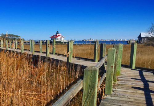 Saturday in Old Town Manteo